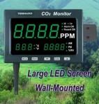 TM-186二氧化碳测试仪+大屏幕显示器