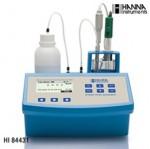 哈纳仪器&哈纳滴淀仪HI84431(哈纳HANNA)微电脑总碱度滴定分析仪