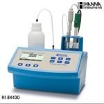 哈纳仪器&哈纳滴淀仪HI84430(哈纳HANNA)微电脑酸度滴定分析仪