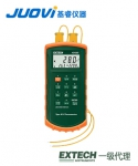 EXTECH 421502带报警J/K型双输入温度计
