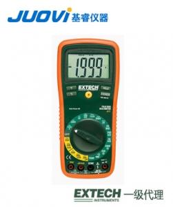 EXTECH EX320带非接触式电压检测器迷你万用表